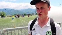 Cyril entraîneur La Murette U13
