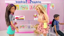 Barbie Family LOL Surprise Visit The Ice Cream Shop - Japanese Barbie Licca  Toy