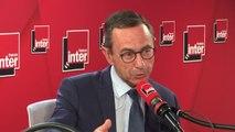 """Bruno Retailleau (président du groupe LR au Sénat) ne brigue pas la tête du parti : """"La droite n'a vraiment pas besoin d'une nouvelle guerre des chefs, ce serait la mort"""""""
