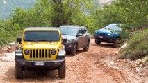 Jeep Wrangler Rubicon Offroad Driving