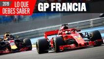 Claves del GP Francia F1 2019
