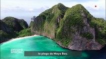 """""""ENVOYE SPECIAL"""". Thaïlande : la plage de Maya Bay, un paradis désormais interdit"""