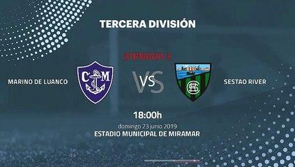 Previa partido entre Marino de Luanco y Sestao River Jornada 3 Tercera División - Play Offs Ascenso