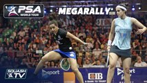 """""""What a rally... LOOK AT THAT!"""" - Squash MegaRally - El Welily v El Tayeb"""