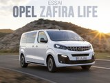 Essai Opel Zafira Life (2019)