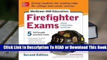 Full E-book McGraw-Hill Education Firefighter Exam  For Online