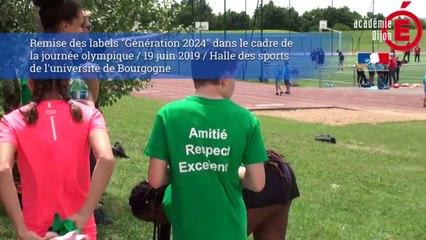 """Remise des labels """"Génération 2024"""""""