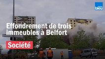 Belfort : démolition de trois tours pour de futurs pavillons