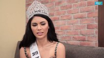 Miss Universe Philippines 2019 Gazini Ganados talks about her advocacy for the elderly