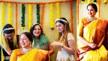 Sameera Reddy's baby shower picture goes viral; Check Out   Boldsky