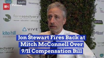 Jon Stewart Lets Mitch McConnell Have It
