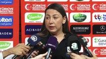 SPOR A Milli Kadın Basketbol Takım Menajeri Yasemin Horasan'ıın açıklamaları