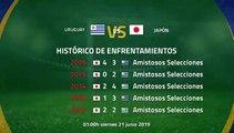 Previa partido entre Uruguay y Japón Jornada 2 Copa América