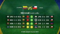 Previa partido entre Ecuador y Chile Jornada 2 Copa América