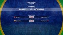 Previa de la Jornada 3 Copa América Grupo B