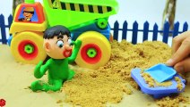 Babies Make Sand Figures | Play Doh Stop Motion Babies Animation Movies Cartoons For Kids