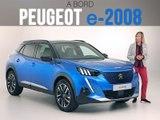 A bord du Peugeot e-2008 (2019)