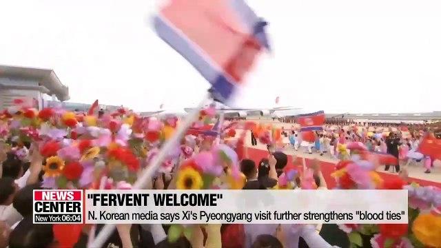 N. Korean and Chinese media stress bilateral friendship ahead of 5th Kim-Xi summit