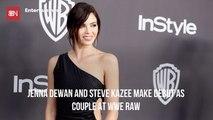 Jenna Dewan Shows Off Her Boyfriend At WWE Raw