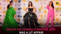 Grazia Millennial Awards 2019: Deepika Padukone, Ananya Panday, Janhvi Kapoor bond like best buddies, inside pics