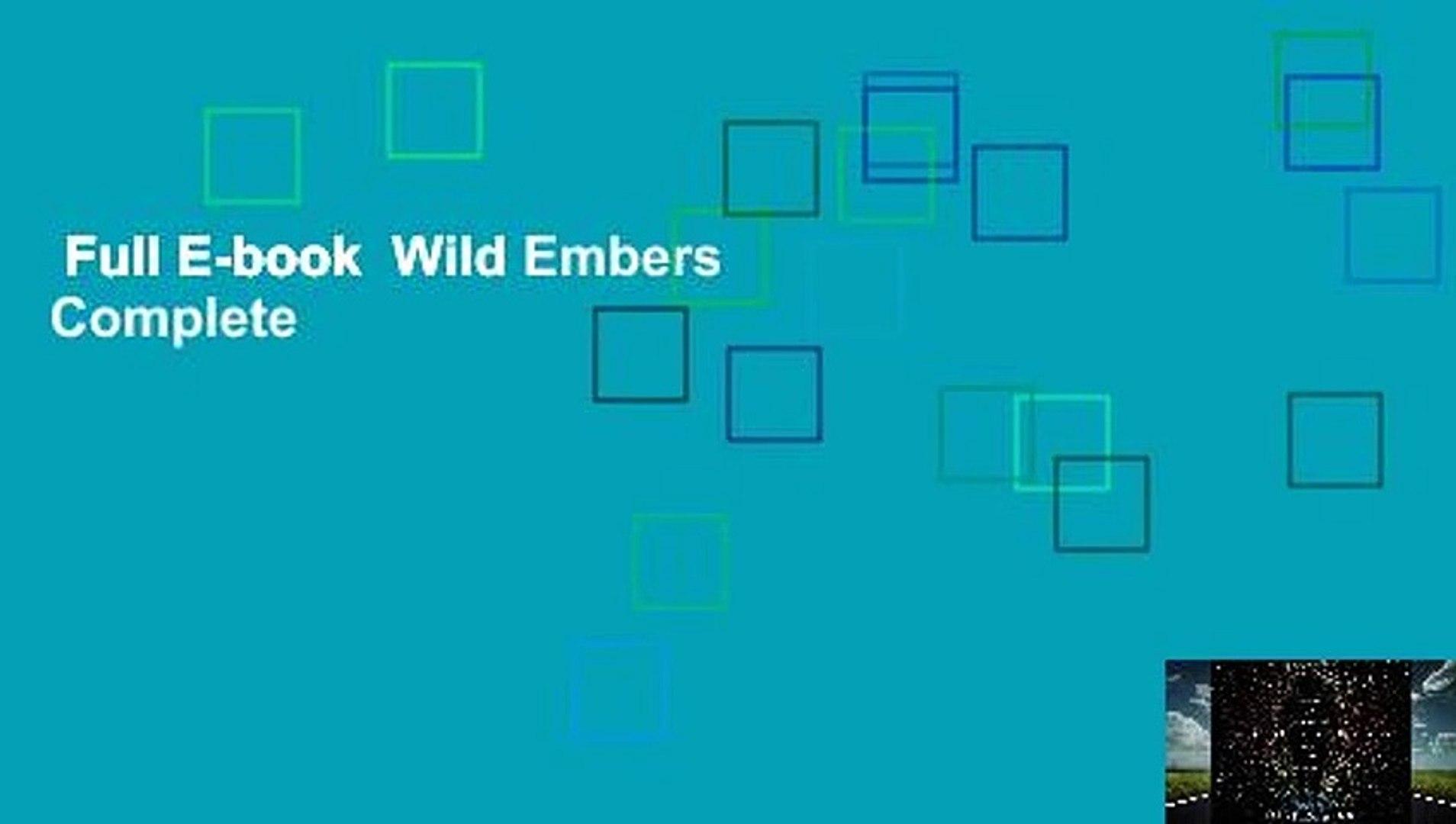 Full E-book  Wild Embers Complete