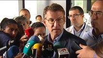 """Feijóo pide explicaciones """"sin tapujos"""" al Puerto y al Ayuntamiento de Vigo tras el siniestro"""