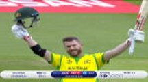 Warner reaches second World Cup century