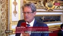 Alain Milon (LR) : « Il y a des risques majeurs de schizophrénie chez les mineurs avec le cannabis »