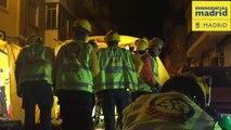 Heridas dos personas en el incendio de su vivienda en Madrid
