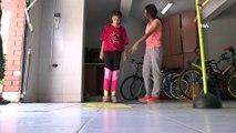 Otizmli çocuklar sporla hayata tutunuyor