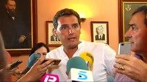 """Rivera sobre el nombramiento de cargos del PSOE al frente de organismos públicos: """"El Estado no es un botín"""""""