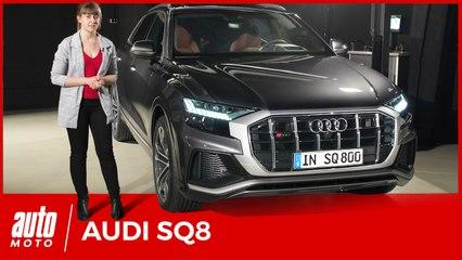 Audi SQ8 (2019): premier contact en vidéo