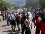 Ira y disturbios en las calles mexicanas por la desaparición de los 43 estudiantes