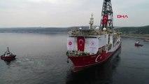 KOCAELİ Yavuz Sondaj Gemisi yola çıkıyor