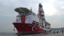 Sondaj gemisi Yavuz, Akdeniz'e uğurlandı - KOCAELİ