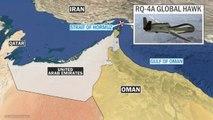 Iran shoots down U.S. military drone over Strait of Hormuz