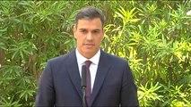 """Sánchez: """"Como presidente del Gobierno no me corresponde calificar ninguno de los procesos judiciales que estén abiertos"""""""