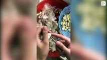 Esta es la manera correcta de pelar ajos