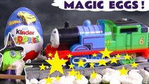 Magic Surprise Eggs with Thomas and Friends Paw Patrol DC Comics and Funny Funlings Opening them when they rescue in this family friendly full episode