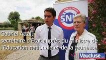 Carpentras : « L'esprit SNU est en train de naître ! »