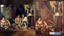 Un tableau d'Eugène Delacroix retrouvé dans le salon d'une famille parisienne