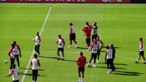 Peru train in Sao Paulo ahead of Brazil clash at the Copa America