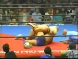 Ric Flair vs. Kerry Von Erich - 2 out of 3 Falls (AJPW Grand Champion Carnival II 1984 - Tag 5)