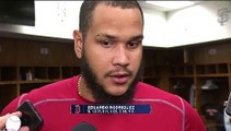 Eduardo Rodriguez Addresses Media After Defeating Twins