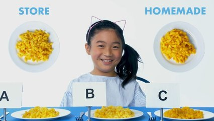 Kids Try Store-Bought vs Homemade Pasta