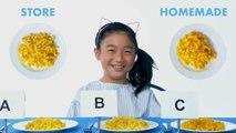 Kids Try Store-Bought vs Homemade Pasta