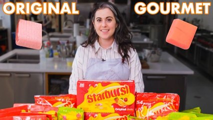 Pastry Chef Attempts to Make Gourmet Starbursts