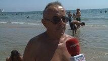 Las playas de la Comunitat Valenciana se llenan para combatir la ola de calor