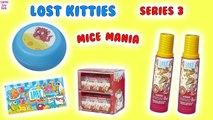 Lost Kitties MICE Mania Surprise TOYS Review Fun for KIDS Unboxing