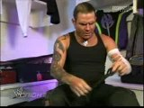 jeff hardy getting ready to face randy orton